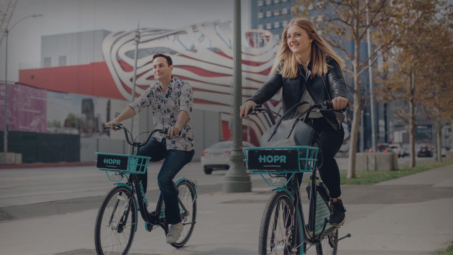 Hop around in Los Angeles with HOPR Bike Share & Scooter Share