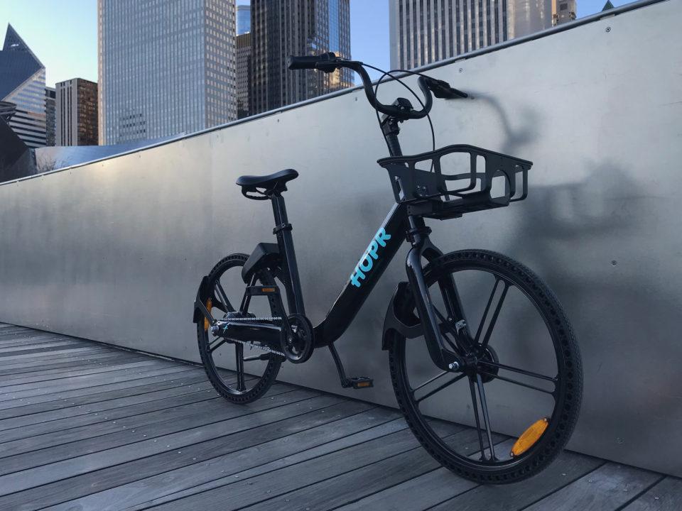 HOPR 1 Dockless E-Bike Electric Bike Share