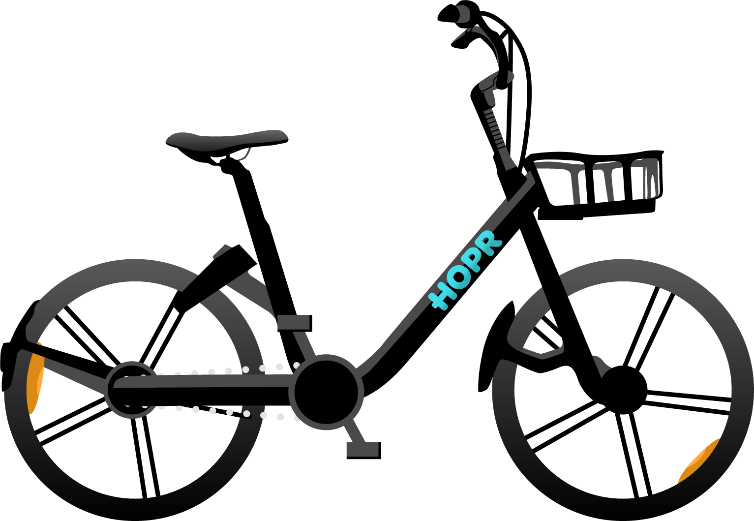 HOPR1 hybrid electric bike