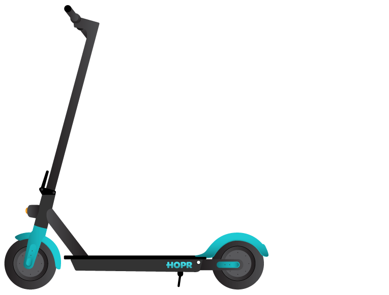 HOPR4 electric scooter