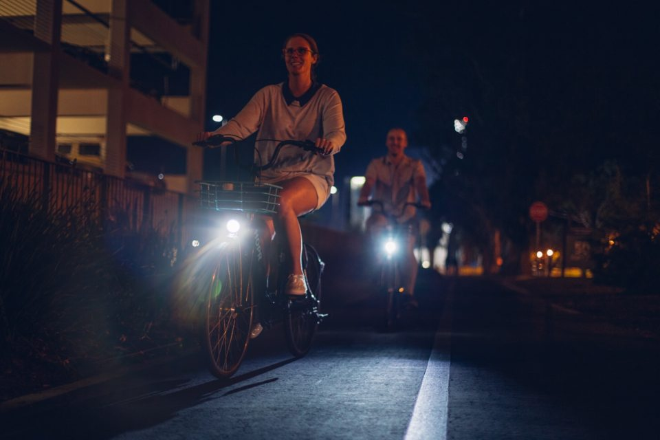 Night Cycling With HOPR Bike Share in UCSB and Isla Vista