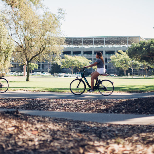 Why Use HOPR Bike Share When You Already Own a Bike? UCSB Isla Vista