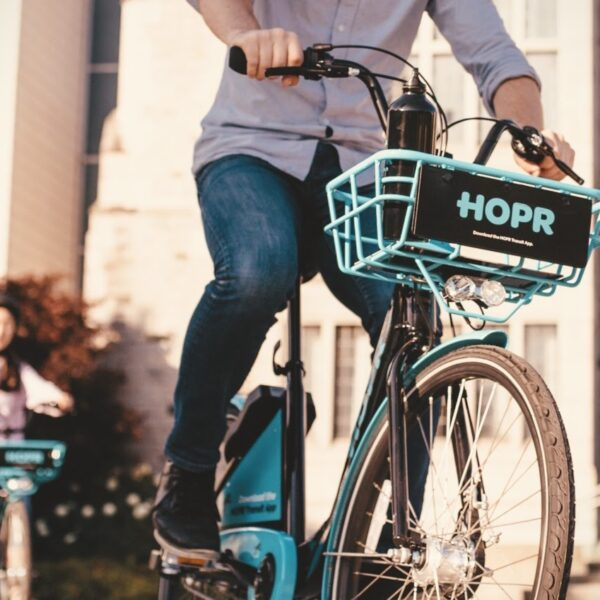 Cleveland Bike Share HOPR Dockless