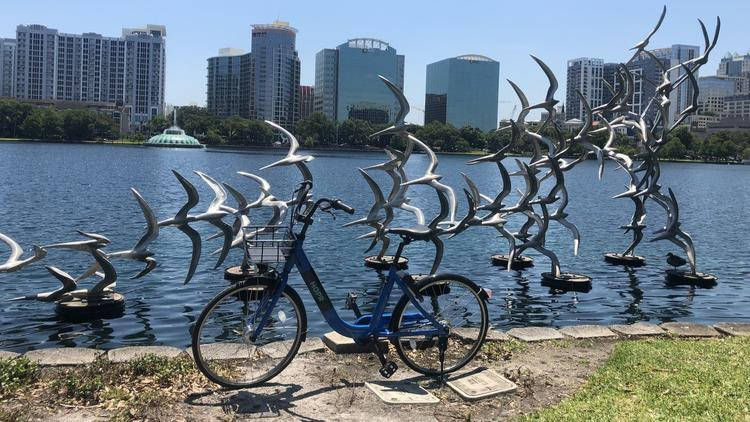HOPR Orlando Dockless Bike Share