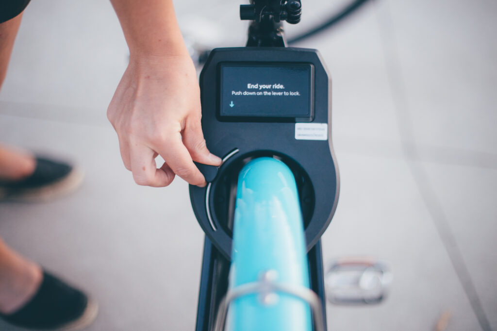 HOPR Bike Share - How to Pause Ride in Transit App