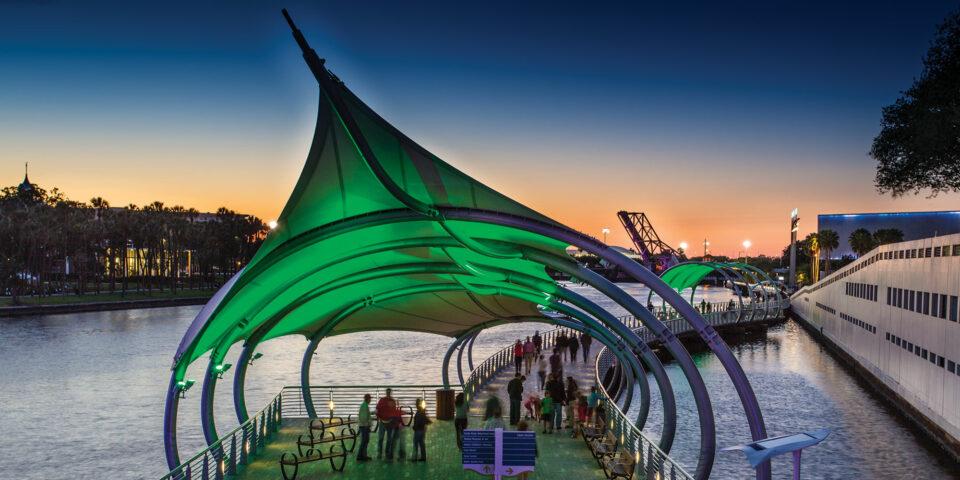 Coast powered by HOPR Bike Share Tampa Riverwalk